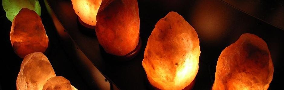 Lámparas de sal del Himalaya | Universo ThetaHealing